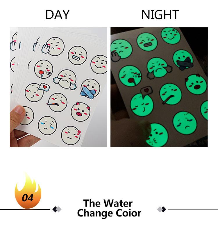 Ngjitëse me treguesin UV të ndryshimit të ngjyrës